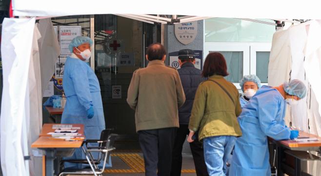 서울시 지정 '감염병 전담병원' 체제로 전환되는 서울적십자 병원