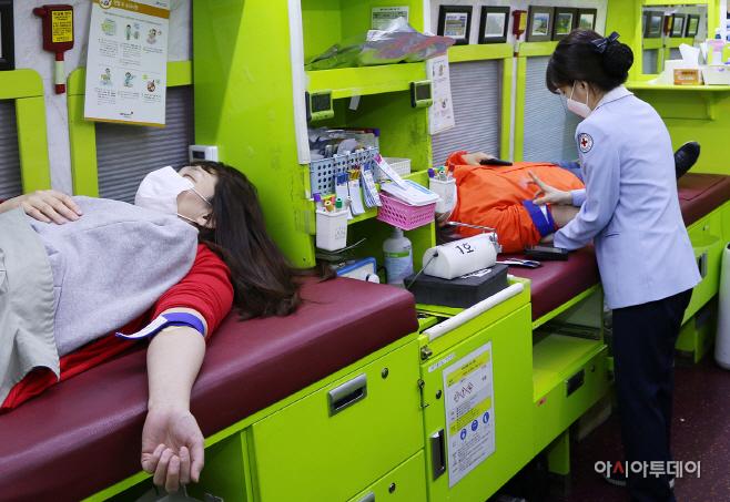오렌지라이프, 코로나19 극복 헌혈 캠페인
