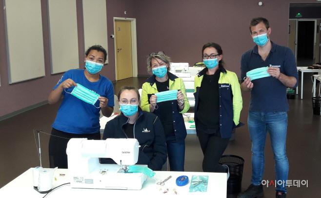 [참고 사진] 미쉐린 의료용 마스크 생산