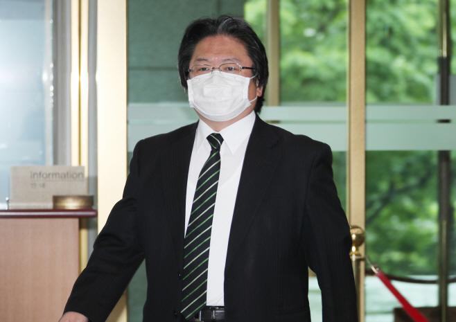정부, 주한 일본대사관 총괄공사 초치