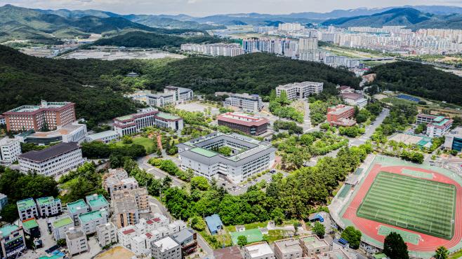 동국대 경주캠퍼스 전경 (3)