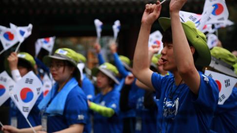 단국대 국토대장정 '통일을 걷다, 독립을 걷다'