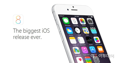 iOS8 인기...예전만 못해