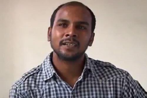 '적반하장' 인도 버스성폭행범