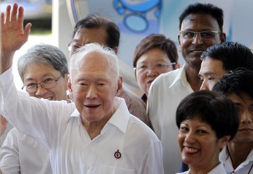 '싱가포르 국부' 리콴유 타계