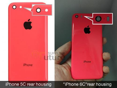 애플 '아이폰6C' 커버 유출?