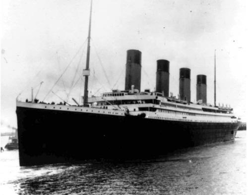 그때그날 '타이타닉호' 잠들다