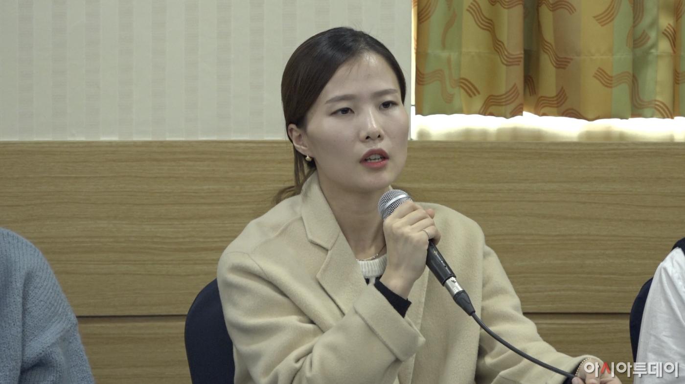 """팀킴 """"상금·기금 행방 알 수 없어"""" (감독단 부조리 폭로 기자회견)"""