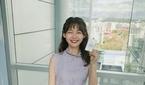 김수민 아나운서, 입사 후 첫 녹화 인증샷 '풋풋'