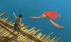 칸 영화제 휩쓴 명작 '붉은 거북', 의성어 제외 대사..