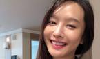 배우 박정아, 힘든 육아에 부은 얼굴 '표정은 행복'