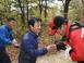 수원시 권선구, 칠보산 등산로 산불예방 현장 소통 점검