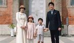 박지윤, 가족과 함께 행복한 미소