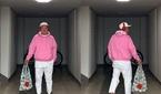 신우식, 다이어트 성공…화사한 핑크 패션 공개