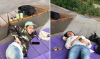 """김상혁♥송다예, 여유로운 한강 데이트 """"분식 먹고 바람.."""