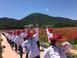 하동군민 430명, 꽃양귀비와 춤을