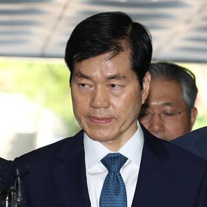 [포토] '삼성바이오 증거인멸 지시 혐의' 김태한 대표 영장실질심사