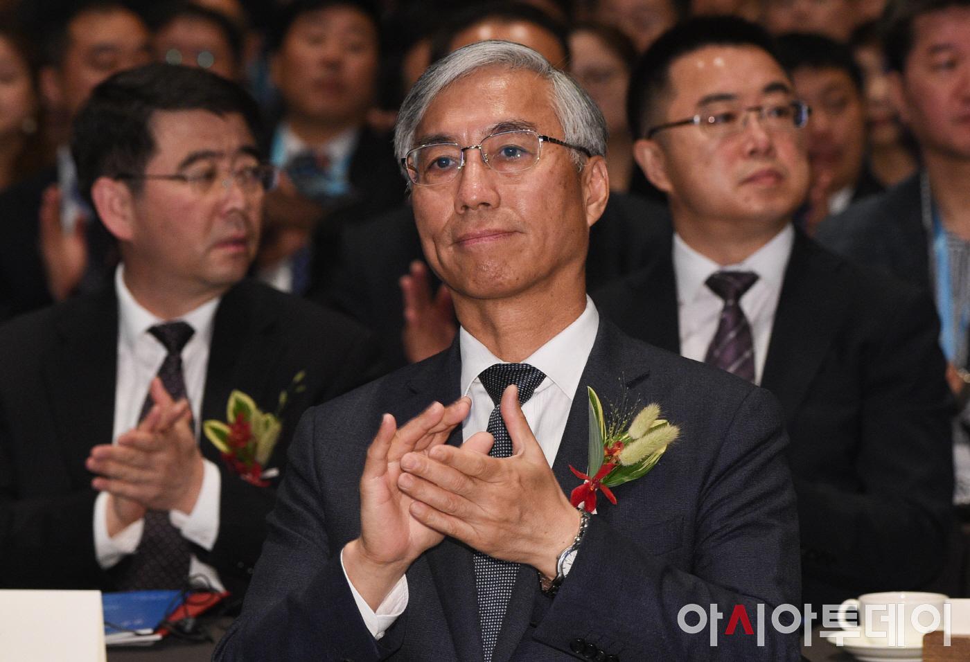 한국 개방혁신협력교류회 참석한 추궈홍 주한 中대사