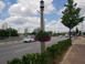 오산시, 국도1호선 가로등걸이 화분 설치