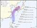 제5호 태풍 다나스 북상…19일 제주·남부지역 강타