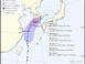 태풍 다나스 남부지역 강타…최대 700㎜ 물폭탄 예고