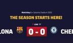 바르셀로나 VS 첼시, 선발 명단 공개
