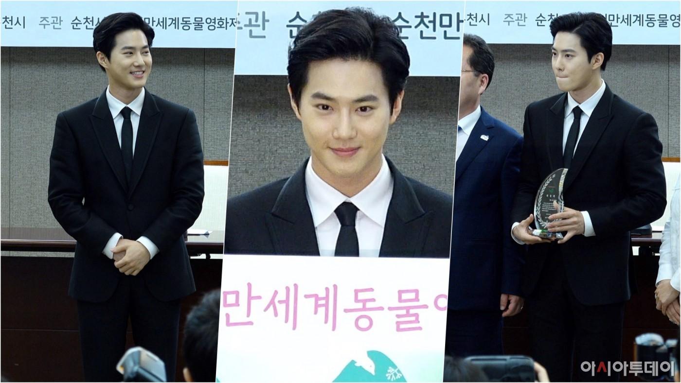'엑소' 수호 세로직캠 ('EXO' SUHO), 질투나는 잘생김