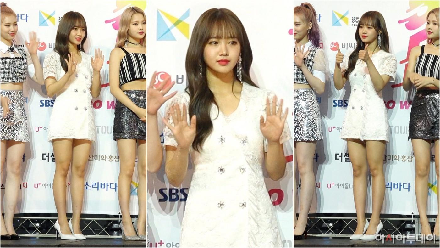 '위키미키' 최유정 세로직캠 ('Weki Meki' Choi Yu Jeong), 귀여움 NO.1 인증! (2019 소리바다 어워즈)