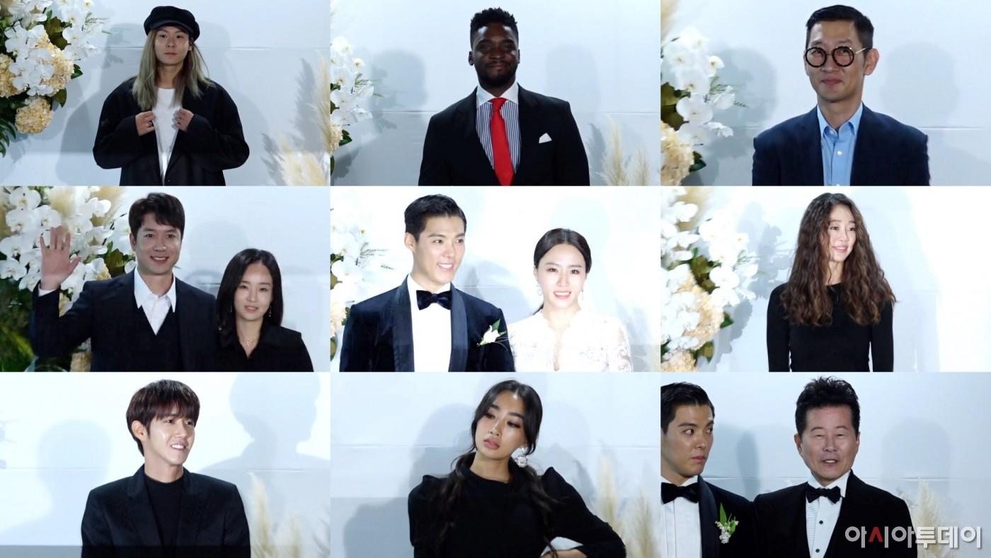 황광희부터 장문복까지···강남♥이상화 결혼식을 찾은 하객들의 하객패션