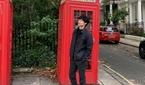김충재, 런던서도 숨겨지지 않는 '훈훈한 외모'
