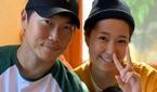 배우 송진우, 미모의 아내와 함께한 근황 포착