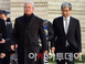 [포토] '국정농단 3차 공판' 법정 향하는 삼성