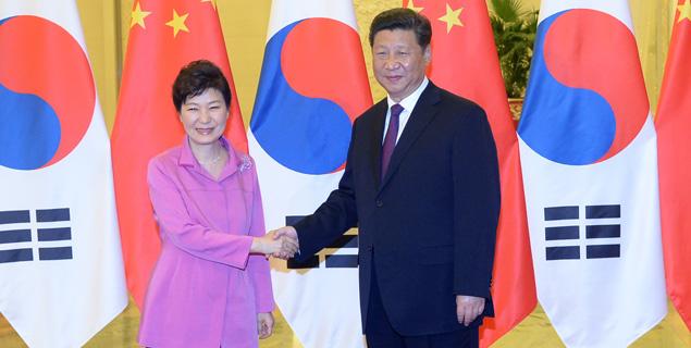 朴대통령-시진핑 주석, 한중관계 심도 논의