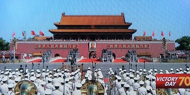 시진핑의 '군사 굴기' 천안문 사열