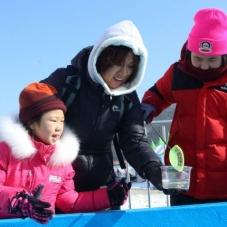 '겨울축제의 원조' 인제 빙어축제
