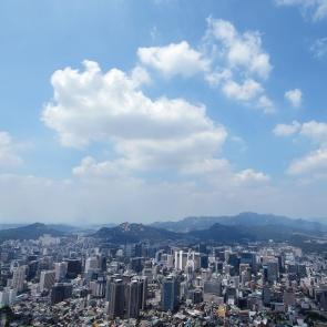푸른 서울 하늘