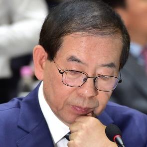 박원순 '서울시장 3선 도전 생각?'