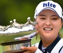 '슈퍼루키' 고진영, 67년 만에 LPGA 데뷔전 우승