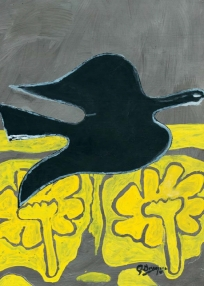 조르주 브라크의 'Oiseau Noir'(Black Bird)