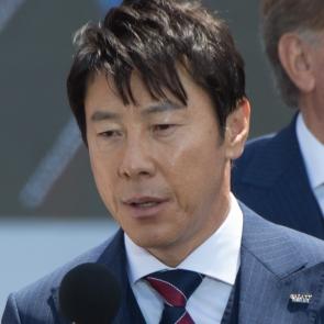 월드컵 출정식 소감 밝히는 신태용 감독