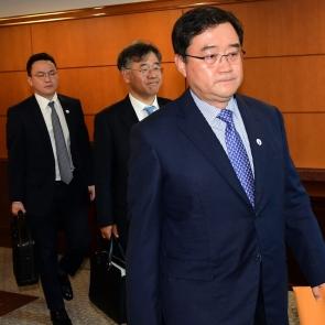 구성훈 삼성증권 대표, 금감원 제재심 참석