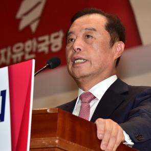김병준 비상대책위원장 '난 계파 없다'
