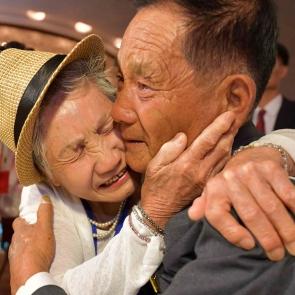 71세 아들 만난 이금섬 할머니