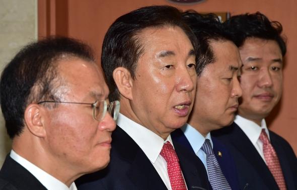김성태-김관영 '인사검증 책임자 조국 해임 촉구'