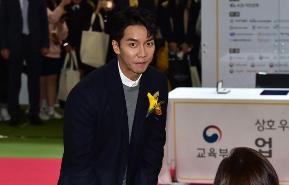 KB굿잡 취업박람회 참석하는 이승기