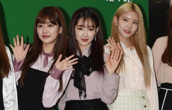 구구단 미미-하나-나영, 아름다운 자태