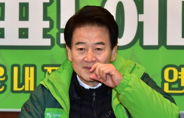 정동영 민주평화당 대표 '강도높은 투쟁 계속