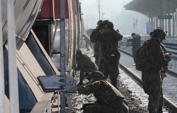 열차 안전점검