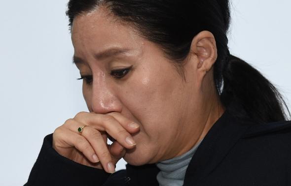 울먹이는 케어 박소연 대표