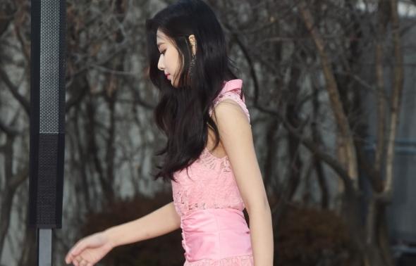 트와이스 쯔위, 핑크 레이디!